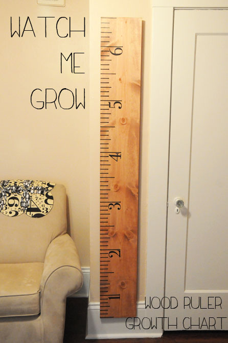 Wooden Wall Growth Charts Keninamas