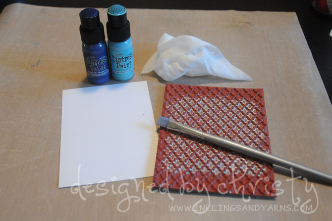 dry stamping supplies