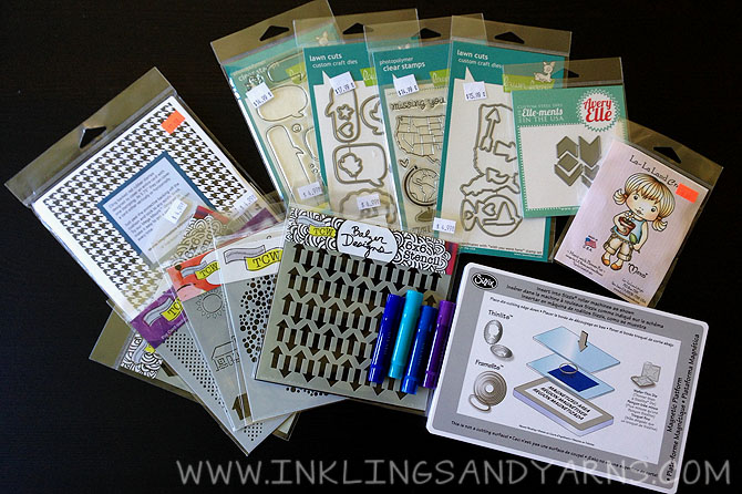 Scrapbook Expo Haul | www.inklingsandyarns.com