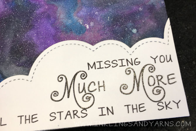 Missing You Card Sentiment