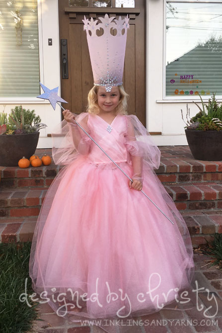 Glinda the Good Witch: A Halloween Costume | Inklings & Yarns